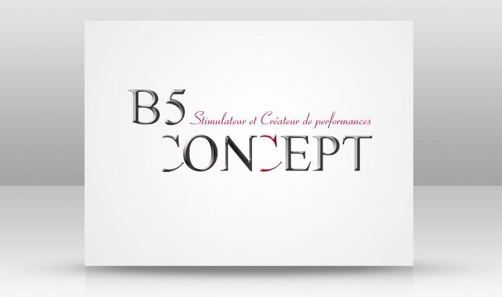 B5 design slide