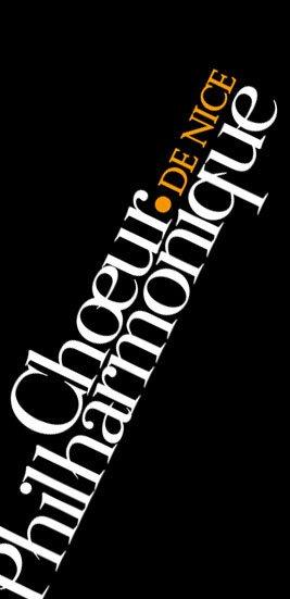 CHOEUR PHILARMONIQUE design ref