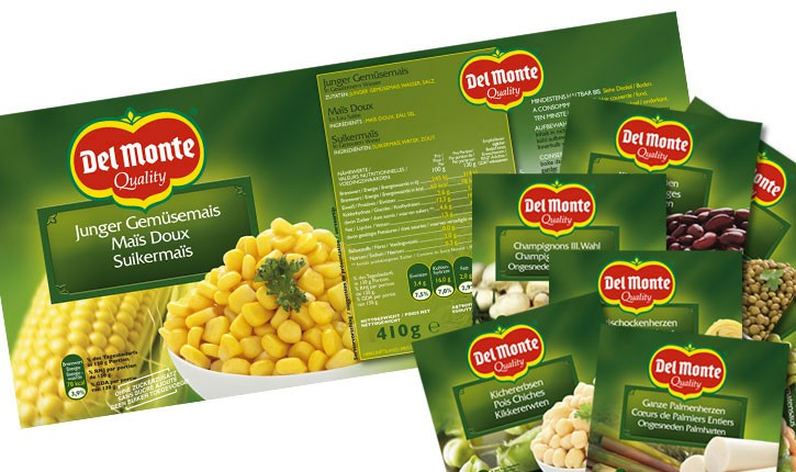 DELMONTE design slide