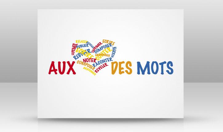 AU COEUR DES MOTS design slide
