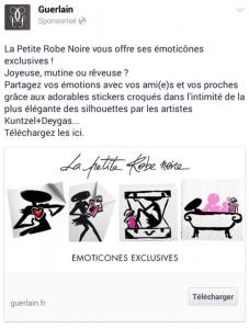 Les Emojis de La Petite Robe noire de Guerlain  Guerlain